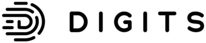 Digits black logo